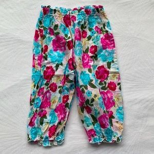 SEAFOLLY | Floral pull on pants